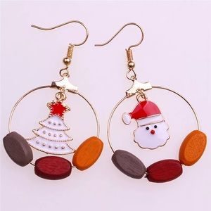 ♡♡ Christmas Earrings Snowman Earrings (3 for $16)